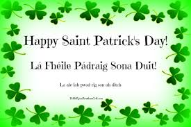 Image result for beannachtai na feile padraig images