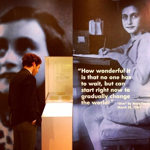 Let us cherish the legacy of #AnneFrank, who died 70 years ago this week at the age of 15. The exact day is unknown… http://t.co/SaVoHna5ih