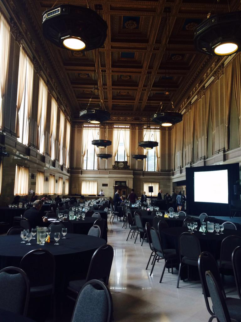 Getting started with #HHSDataFest in the Grand Ballroom http://t.co/ZEZZd75TE5