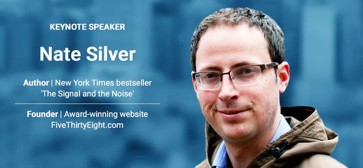 .@NateSilver538 to keynote third annual Predict conference. Get your early bird tickets here http://t.co/fE6FU1IOH7 http://t.co/qJ2EPNlb5U