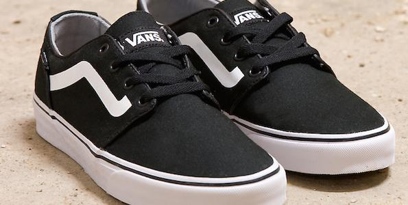 9c9f1a6671 this vans chapman is a jd exclusive featuring the brand s famous sidestripe  now available