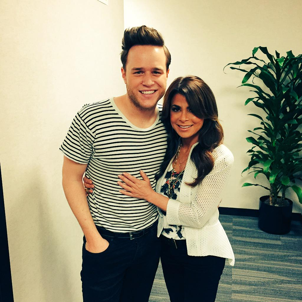 Olly I ADORE you! SO great seeing you honey! *big hugs* xoP RT @ollyofficial: Opposites Attract @unclejonpolly 😜 http://t.co/0y9GZvBKuQ