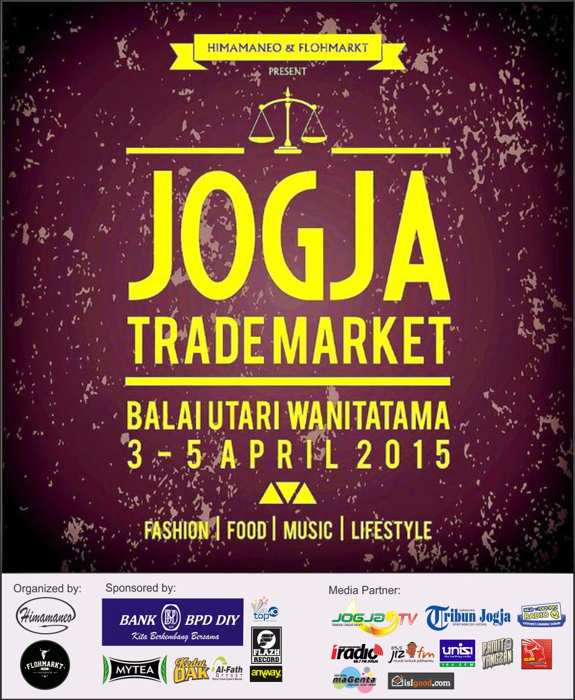 #Jogja Trade Market | 3-5 April | #FREE | @event_mahasiswa | #garagesale #bazaar |<br>http://pic.twitter.com/nQQARgD9Me