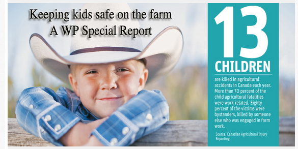 Keeping kids safe on the farm - A WP Special Report. http://t.co/XKzpgZp7ti #cdnag #westcdnag #familyfarm http://t.co/8AuZeKZq2n