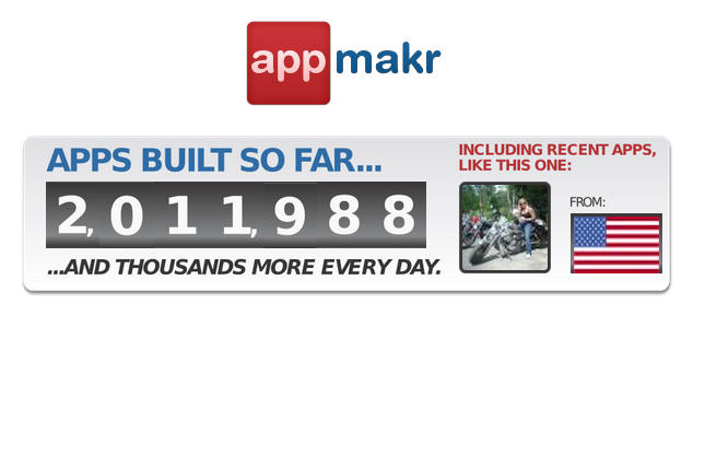 We just passed 2 MILLION new #mobile #apps created on the AppMakr platform! http://t.co/qWw2Q7ua2A