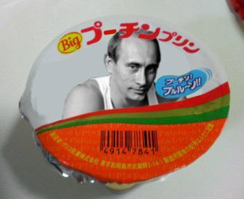 プーチンプリン #タイトルの一部をプーチンに変えるとヤバイ http://t.co/VaV1xdUkay