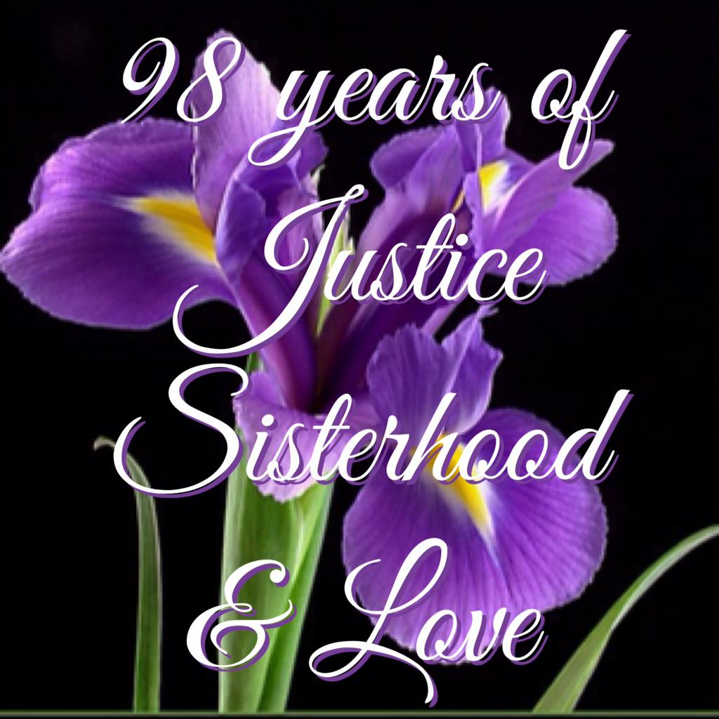 98 years of Justice Sisterhood and Love.  Check out our official video at 10am Eastern Time #dphie98 #dphie http://t.co/wijTQ0RhtQ