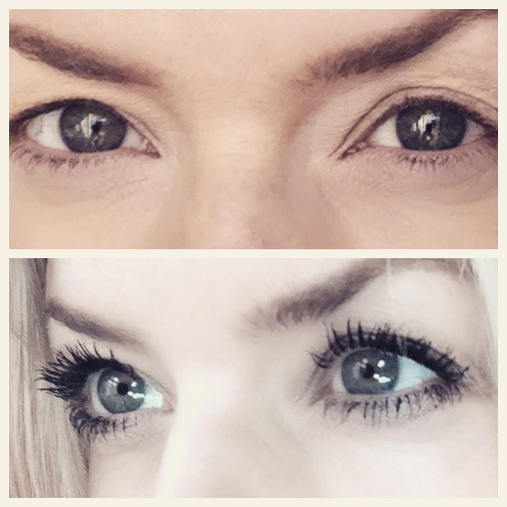 Before and after @MaxFactorUK Glamour Extensions 3in1 mascara. Available in @bootsuk #transformationtuesday #Sp http://t.co/4MsCAf3gMr