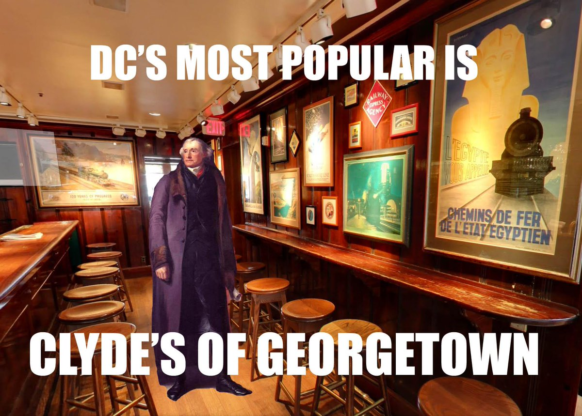 Zagat Dc On Twitter Most Popular Restaurants In Dc With At Clydes