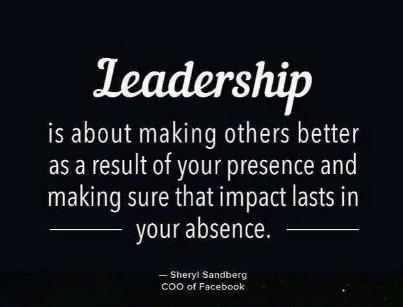 Leadership is... http://t.co/2vAfGpVVdw