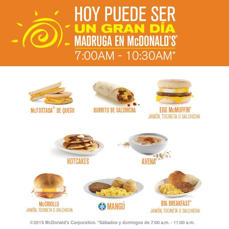 "McDonald's Rep Dom On Twitter: ""En #McDonalds Nos Encanta"