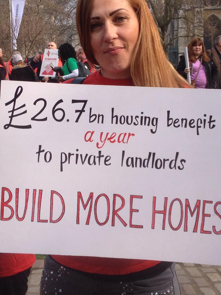 The #homesforbritain build up... http://t.co/c2vlSV8pNg