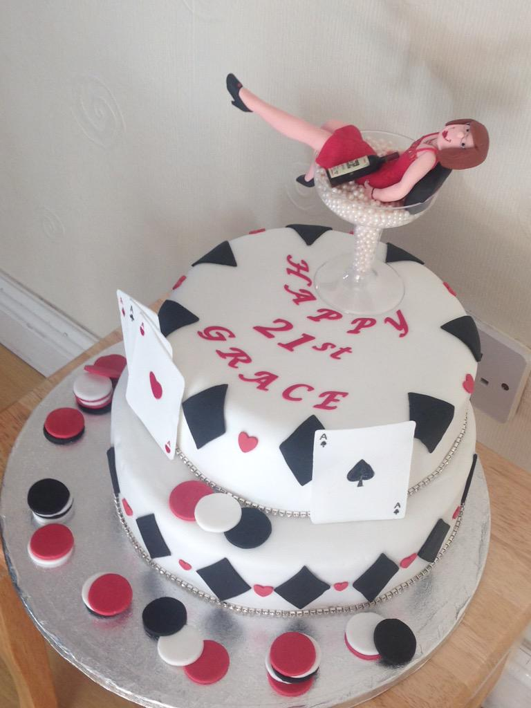 CakesCards Skerries on Twitter 21st cake for casino themed party