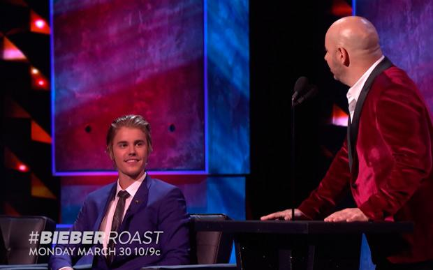 Justin Bieber é comparado com Joffrey de Game of Thrones no Comedy Central Roast http://t.co/Ghpj9VSqgX