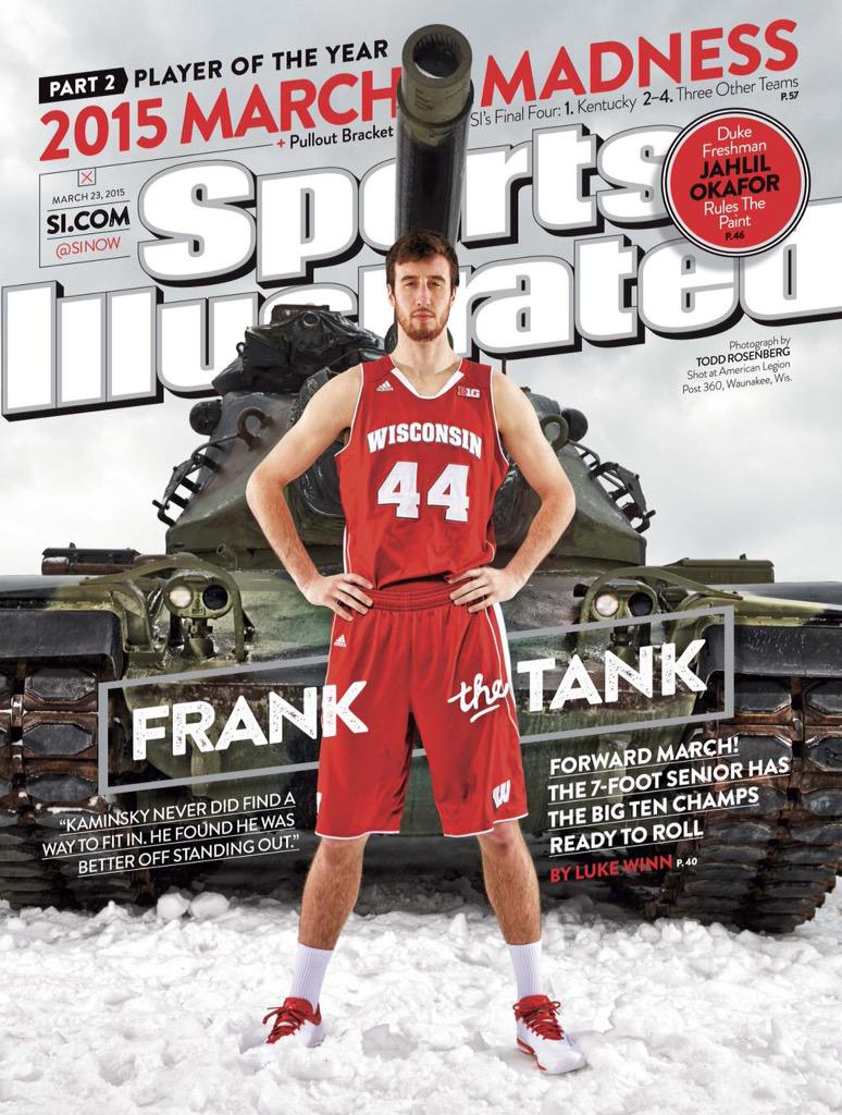 Frank the Tank Covers sports Illustrated