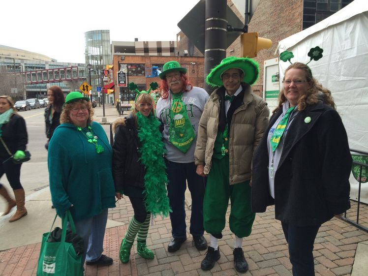Clevelanders flock downtown to celebrate St. Patrick's Day http://t.co/6GBvyTLPEM