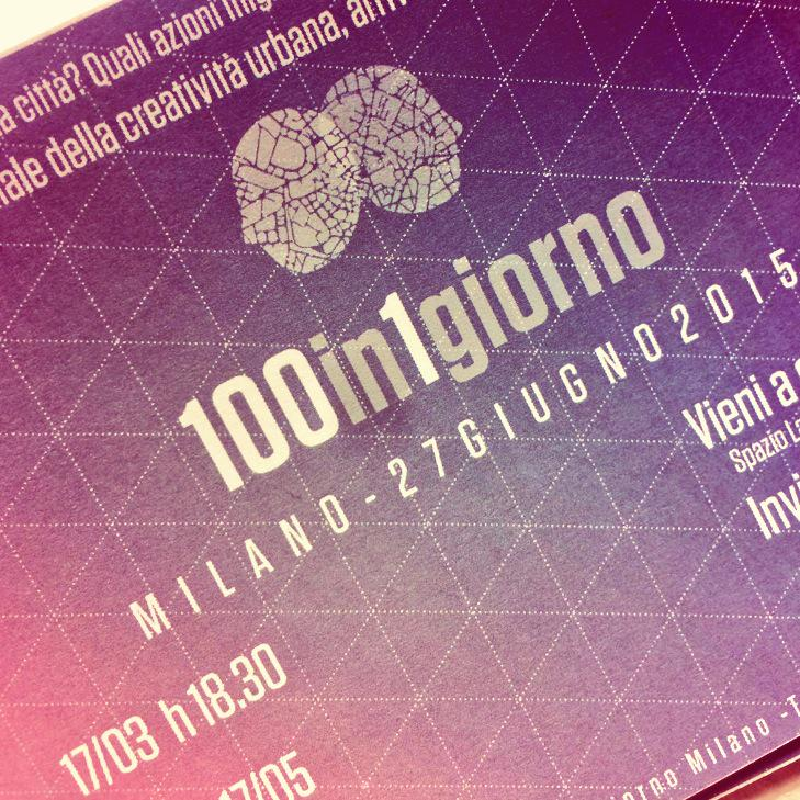 Thumbnail for #100 in 1 giorno Milano