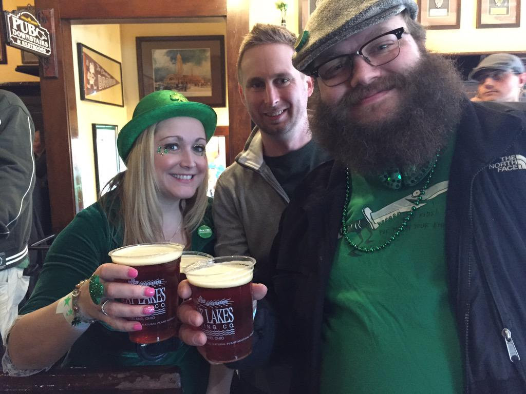 Hello #GLBC #CLEStPats with good friends. http://t.co/aOq1rGDKqB