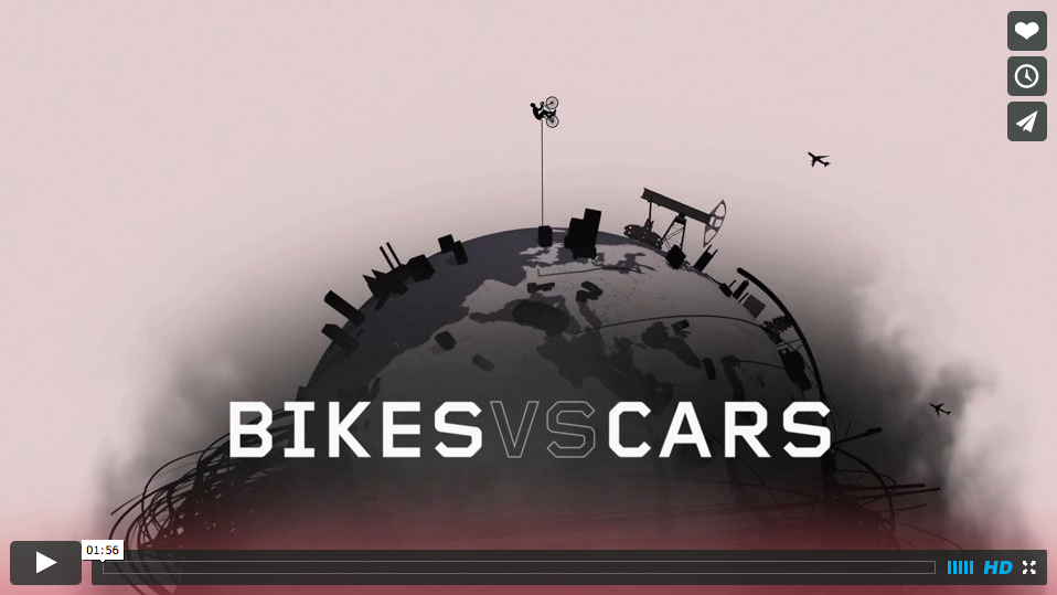Bikes Vs. Cars Movie Embedded image permalink