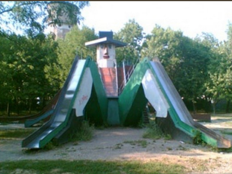 Crying with laughter at this: 34 Creepy Playgrounds.  http://t.co/vO5L1ICGC4  http://t.co/S4O2LgDGKg