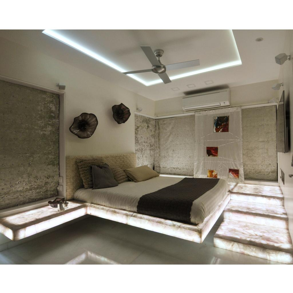 #Bedroom designed by Mumbai, India based interior designer Sonali Shah http://www.mybeautifulife.co.in #home #house #interiors pic.twitter.com/15N0Jsl0z7