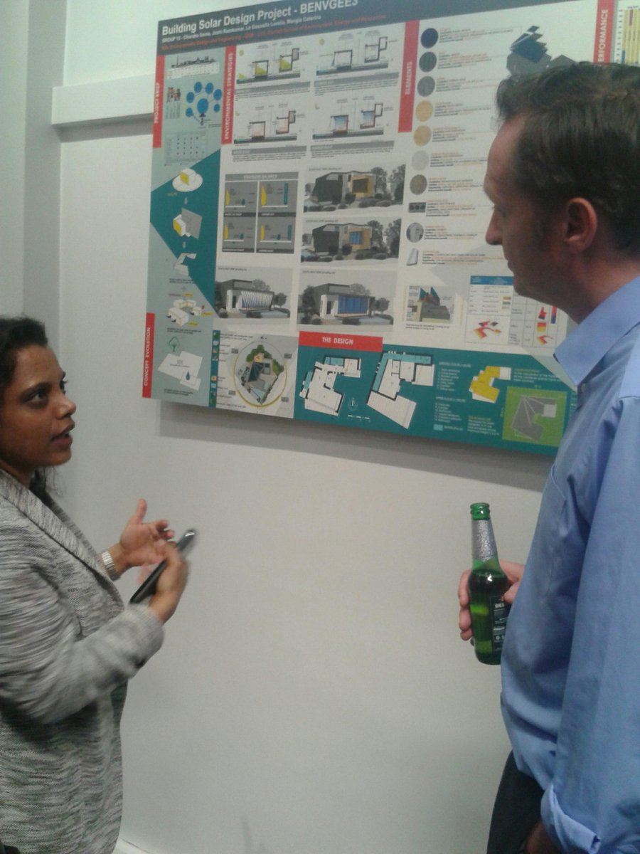 Ucl Inst For Environmental Design And Engineering On Twitter Msc Ede S Soma Discussing Her Group S Design For A Sustainable Modern Home With Mike Davies Ucl Ede Http T Co Gdjgi8susf