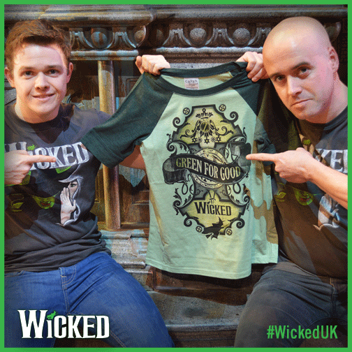#HappyStPatricksDay! To celebrate, follow & RT to win a #WickedUK 'It's Good to be Green' T-shirt! http://t.co/A0cdI7deUV