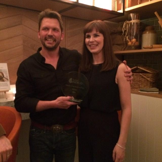 Well done @broightergold for winning @hotelindigo 's Flavours of the #neighbourhood. http://t.co/D0Qm0eNsIz