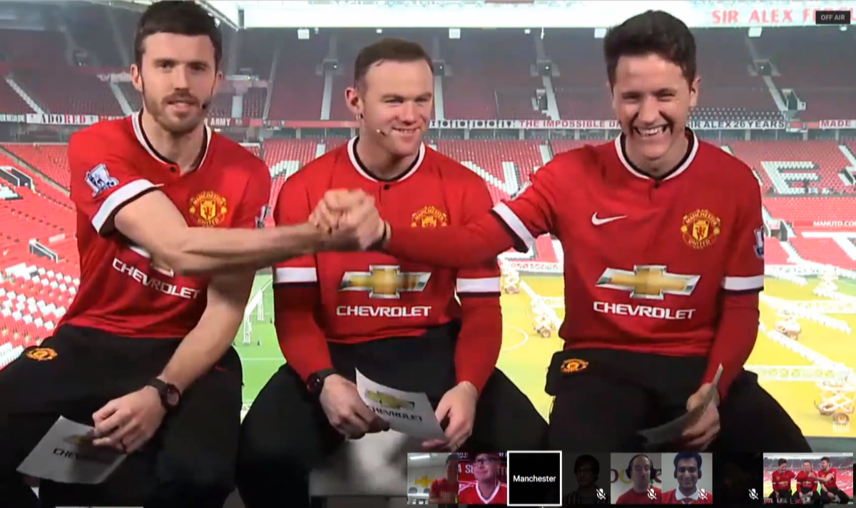 Missed our first #live #fan event with #mufc yesterday? You're in luck. Relive the fun here: http://t.co/4qxfwOaMGC