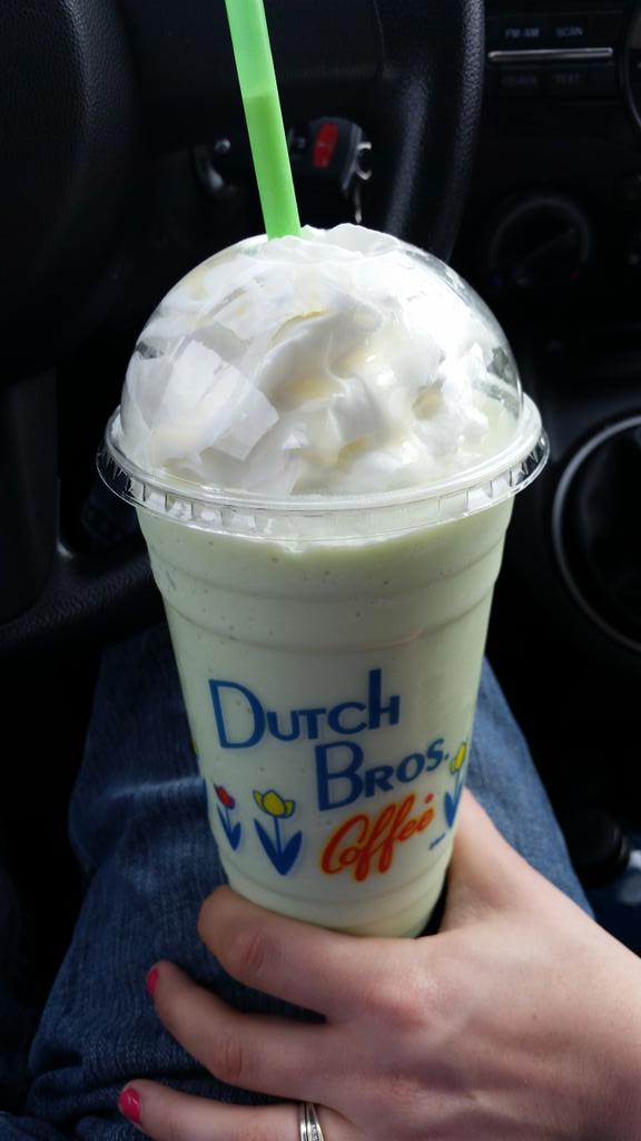 """Dutch Bros Coffee on Twitter: """"""""@LostRiverPhoto: White Chocolate Mint Frost = Amazing from ..."""
