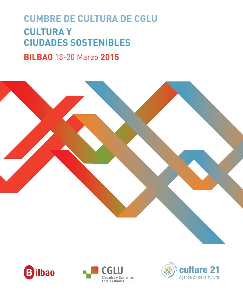 La #cultura y la #sostenibilidad serán protagonistas en #UCLGCulture @uclg_org  http://t.co/rbafeZ4bSO