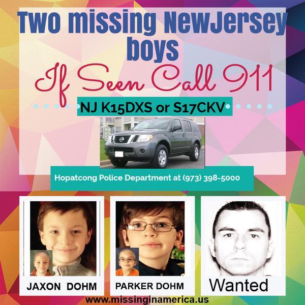 @kg1313 @PoemTrees @delapour @Pepperfire @Xanadutrue @amstyl @kwonjifan @ellepiari @MsPaule #Missing #Dohmboys #NJ http://t.co/qt3u4EkXhA