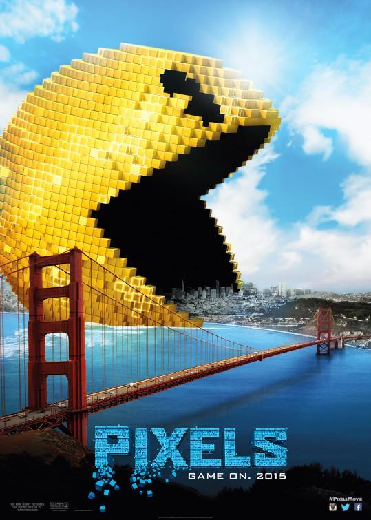 かつて一世を風靡したゲームキャラたちが地球侵略を目論む映画「ピクセル」の予告編が公開。パックマンやドンキーコング、インベーダーたちが大暴れ。「ハリポタ」監督最新作。7月24日全米公開。youtu.be/3q5xDJcmgD8 pic.twitter.com/FAn6eMC2Jk