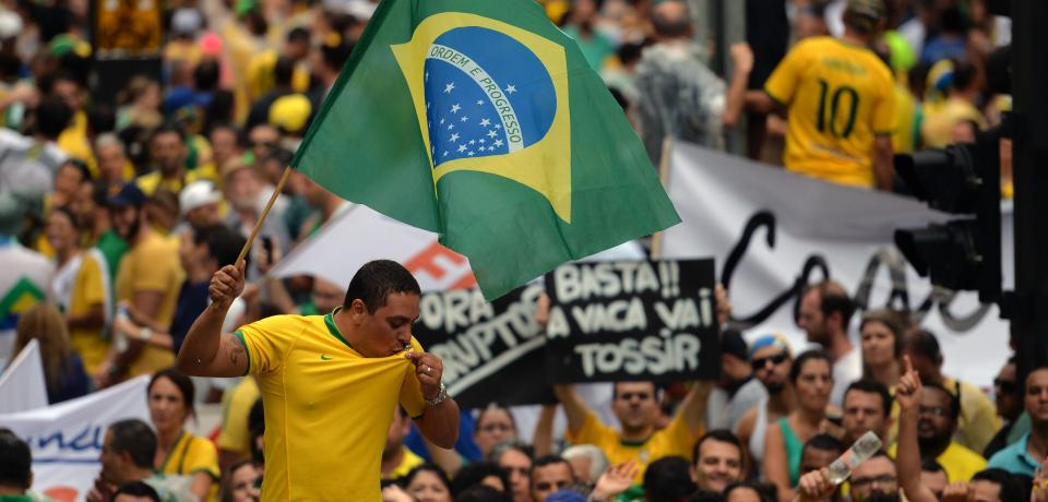 Why is Brazil so angry?