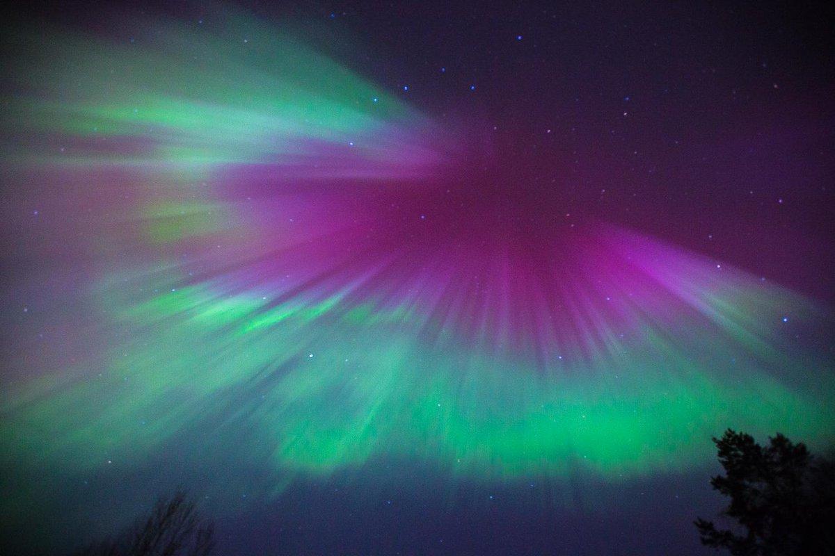 Dazzling Aurora Borealis Light Up The Skies As A Major Solar Storm Hits Earth