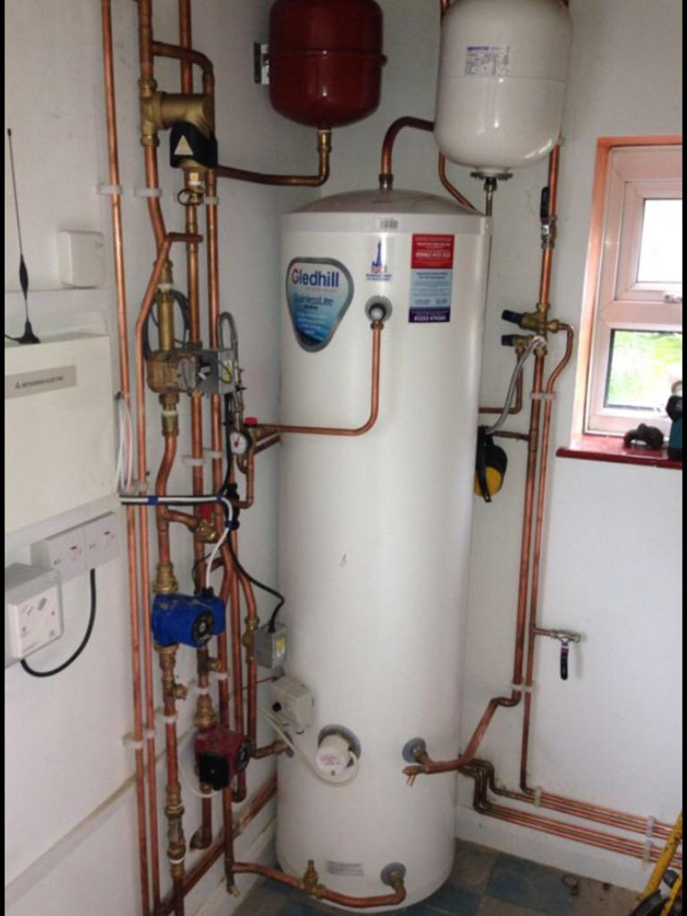 Gledhill unvented cylinders