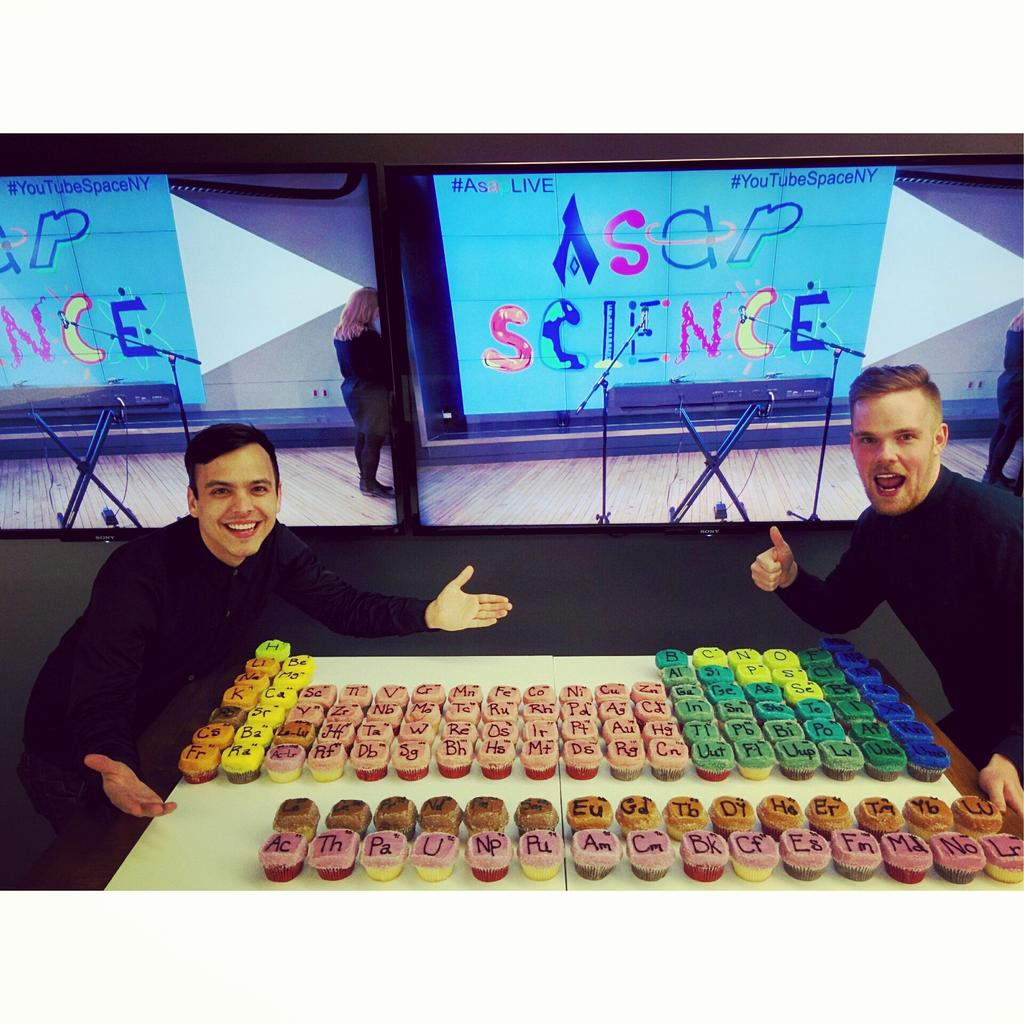 Asapscience on twitter the periodic table of cupcakes are ready asapscience the periodic table of cupcakes are ready asaplive at 7 pm at httpsyoutubewatchvyuofdfhaimm picitter3phbrhfd3z my urtaz Gallery