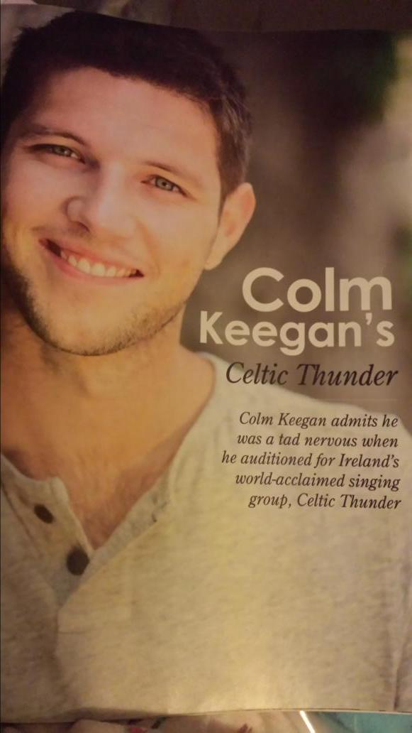 @celticCK Nice surprise to open my April 2015 issue of @CelticLife & see an article on you, Colm! Irish mags ♡ you! http://t.co/HhlHEJNhe0