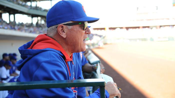 The @Cubs' Joe Maddon thinks kids should play as many sports as possible: http://t.co/YB7glRzWfF http://t.co/yauM5AHq0C