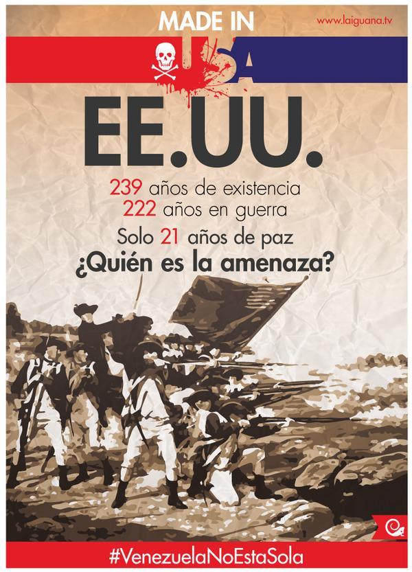 #VzlaNoEsUnaAmenaza