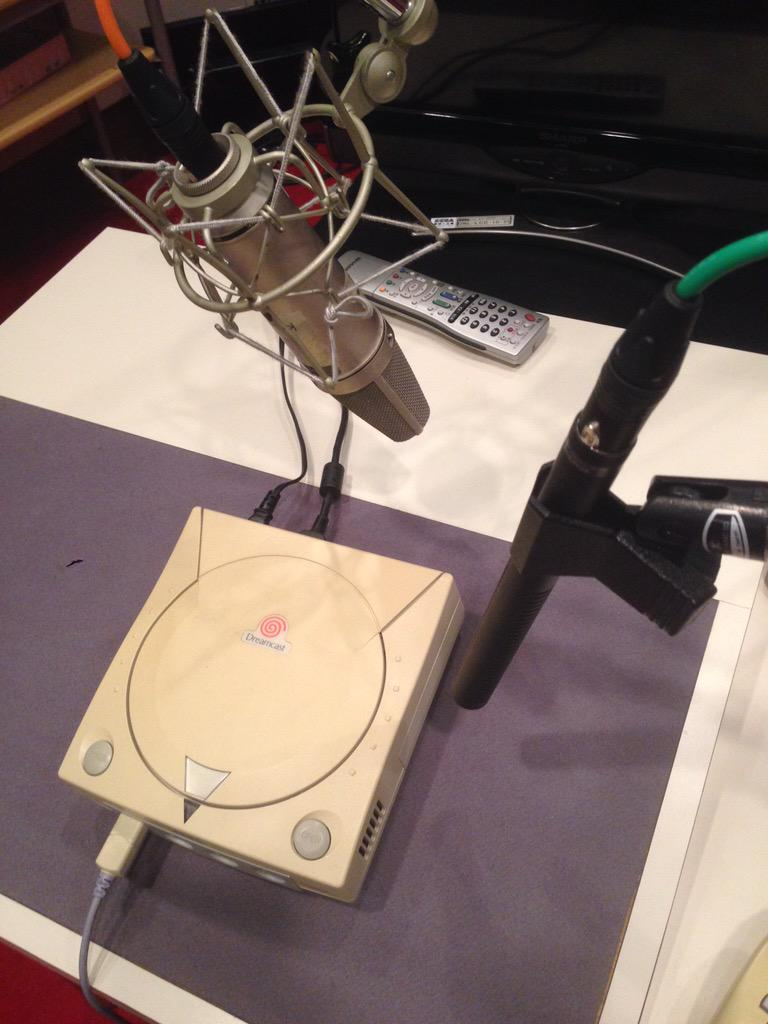 メイキング: 3DS向けドリキャステーマ収録風景 http://t.co/wDjUB8dV2Z