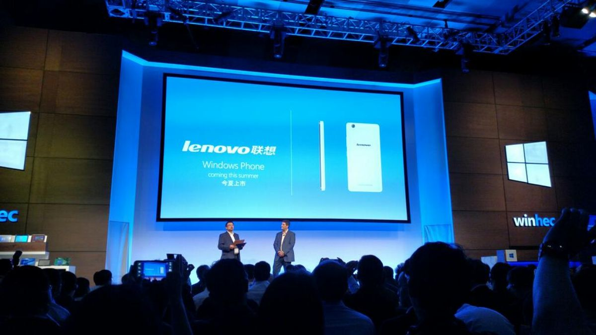 Lenovo's first Windows phone is coming this year