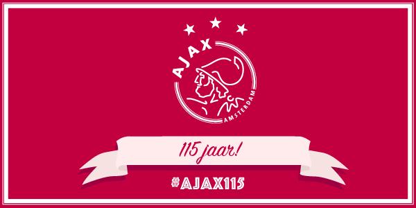 Afc Ajax On Twitter Ajax Viert Vandaag Zijn 115e Verjaardag