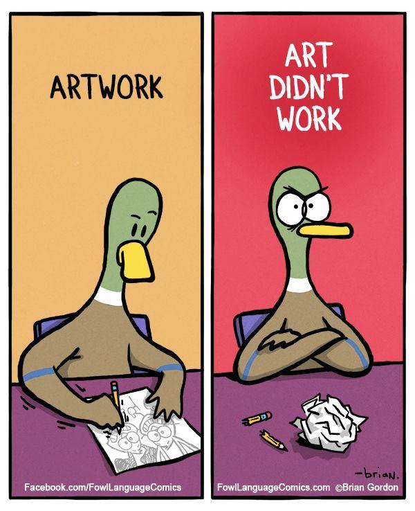 """@ammr: حال المصممين http://t.co/Dd8faPksns""بالذات وقت الامتحان نقلب بيكاسو طافح من الفن"