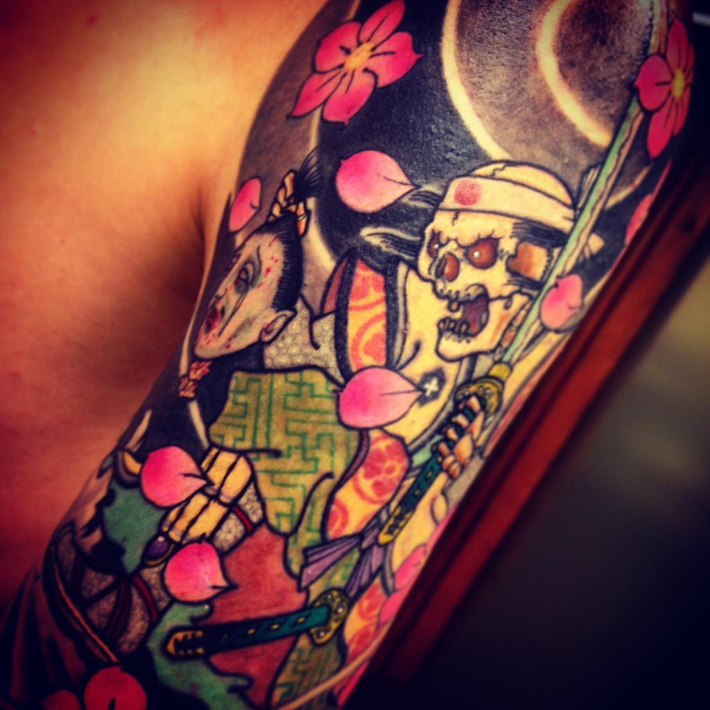 Pere Wong On Twitter Close Up Girona Tattoos Yokai Dead