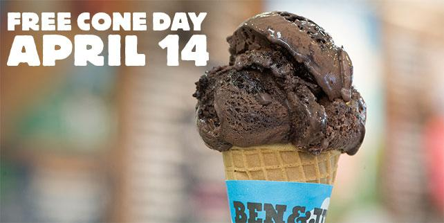 Free Cone Day is coming April 14th! So close you can almost taste the FREE ice cream: http://t.co/GidjiaqyU2 http://t.co/w6rZ35iYSs