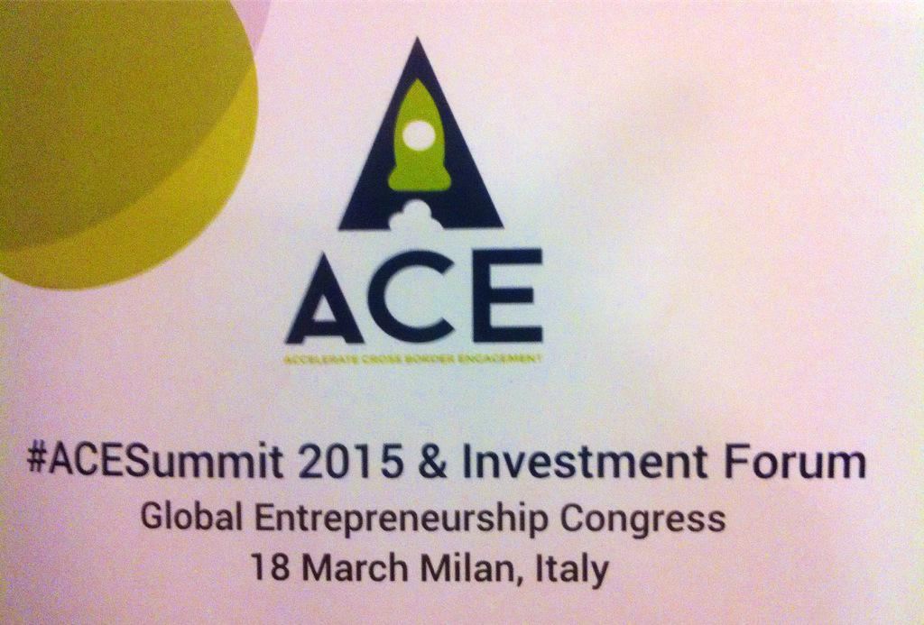 Kicking off the #ACESummit in Milan - pan-European collaboration can stimulate growth & job creation #GEC2015 @EU_ACE http://t.co/RRtz41Mclp