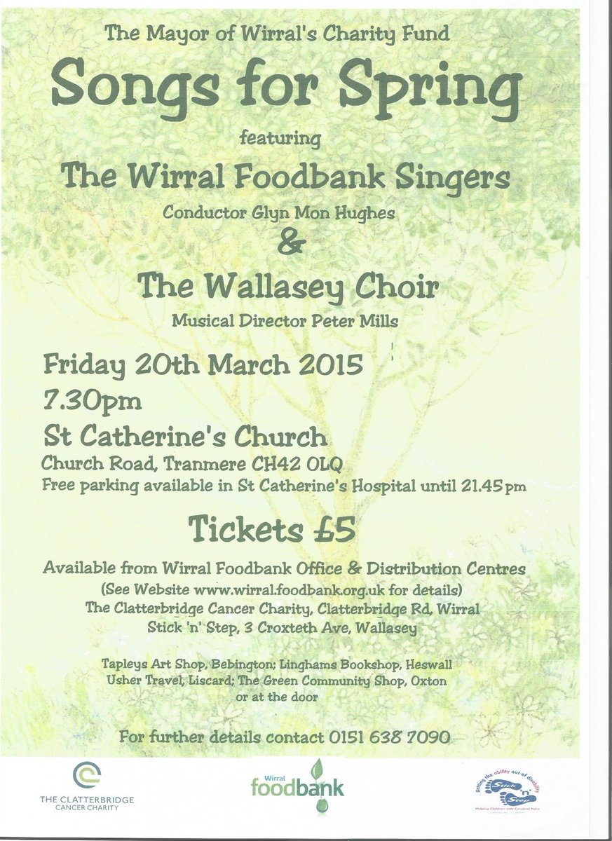 Wallasey Choir On Twitter Support The Wallasey Choir And