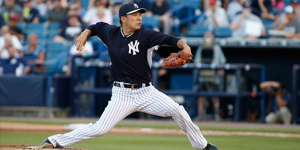 It's #TanakaTime tonight at 6:05pm ET! Watch Yanks vs. Braves on