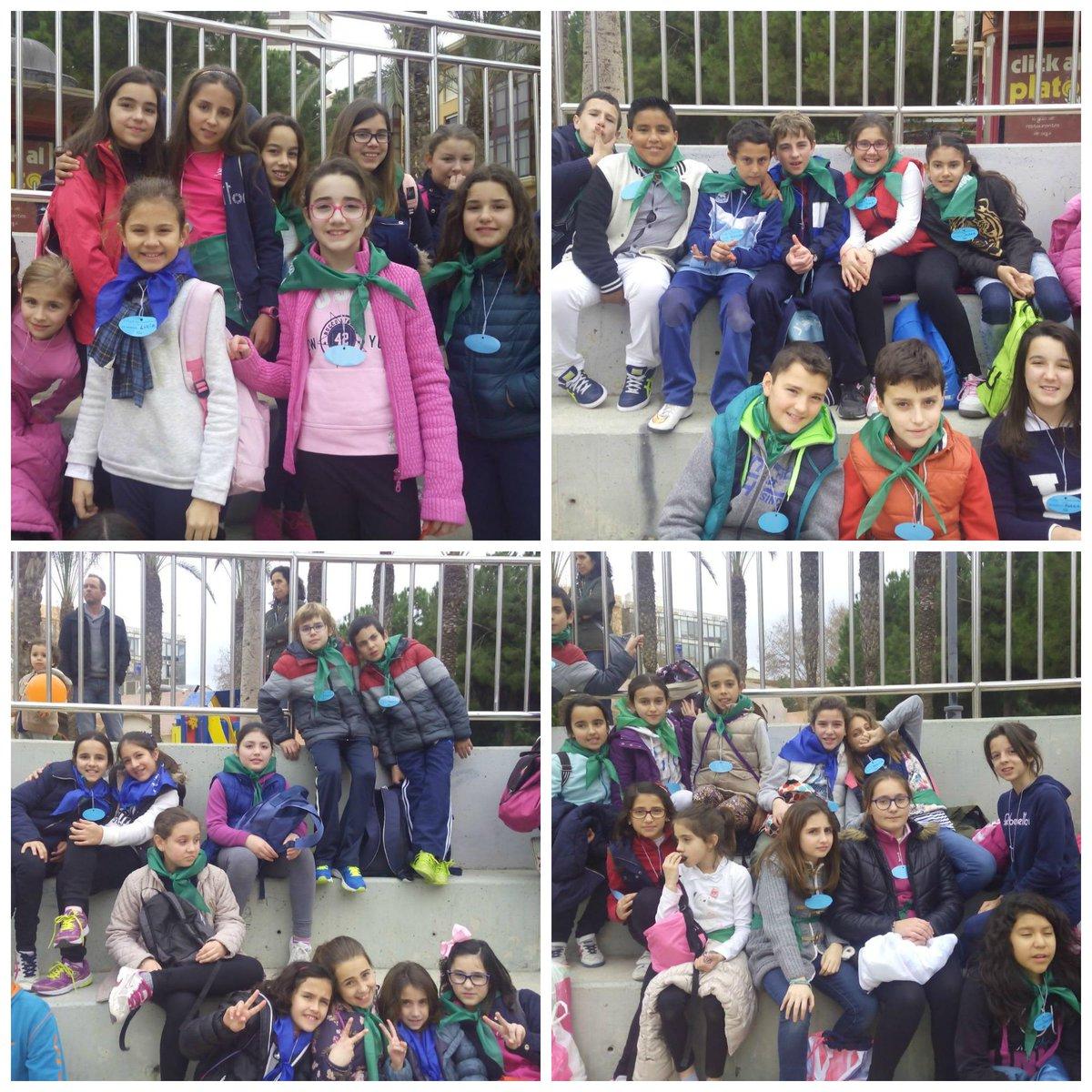 Sábado 14 de Marzo un grupo de alumnos de primaria fueron al encuentro de la Infancia Misionera en Cartagena. http://t.co/5Sfq8qhcNP